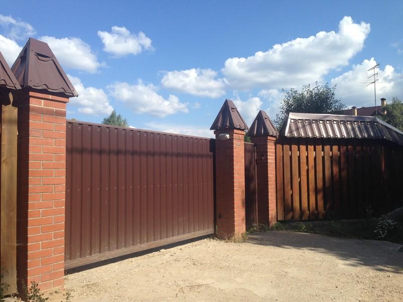 Установка откатных ворот в Сергиев Посаде