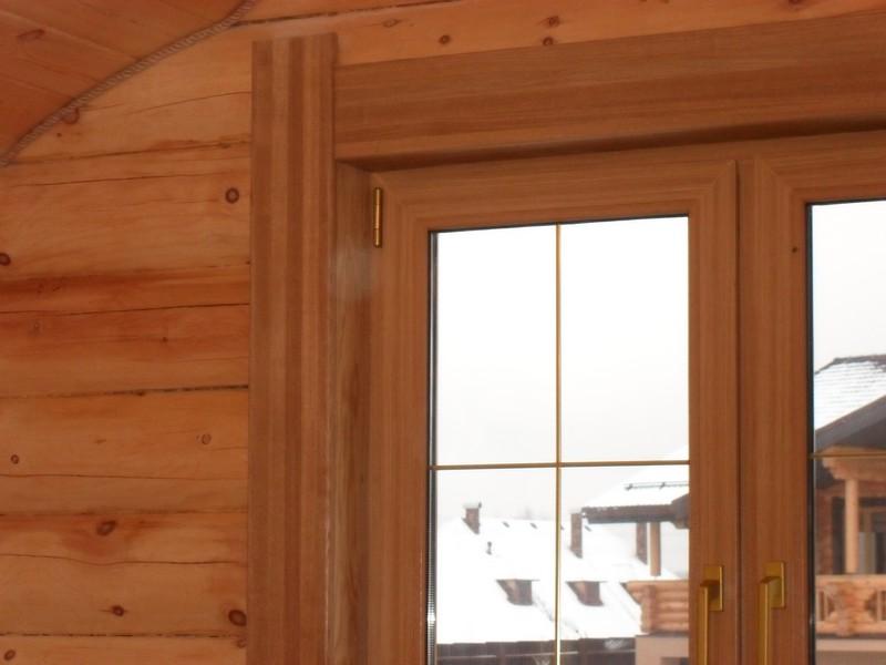 Установка деревянных окон в Пушкино