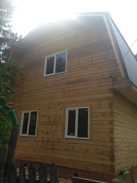Дома из клеёного бруса в Мытищах