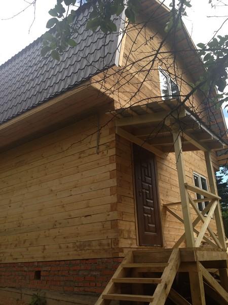 Строительство загородных домов из профильного бруса в Александрове
