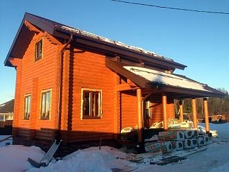 Строительство дачных домов и коттеджей в Абрамцево